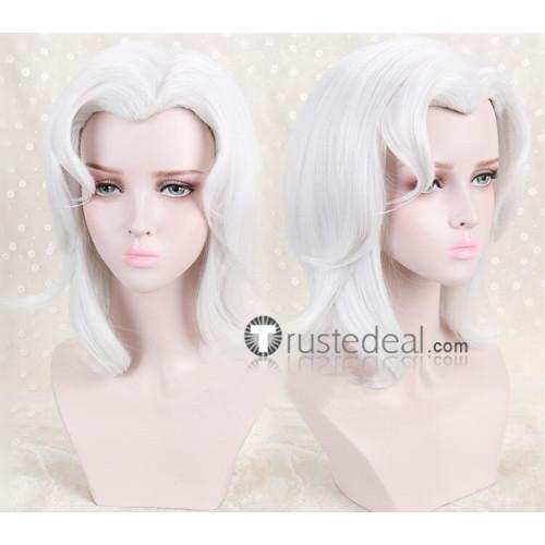 Black Butler Kuroshitsuji Angela Blanc White Cosplay Wig