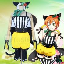 Love Live Rin Hoshizora Animal Cat Cosplay Costume