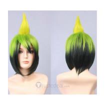 Ao no Exorcist Amaimon Green Cosplay Wig