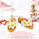 Sword Art Online Asuna Yuuki Cosplay Swimsuit Costume