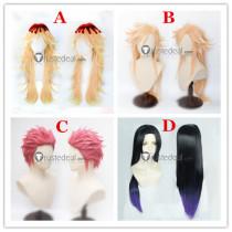 Kimetsu no Yaiba Demon Slayer Akaza Doma Kanae Kocho Cosplay Wigs