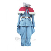 Hetalia Axis Powers Finland Tino Vainaminen Blue Cosplay Costume