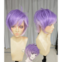 Diabolik Lovers Sakamaki Kanato Purple Cosplay Wig