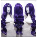League of Legends Lulu Dark Purple Cosplay Wig Hat