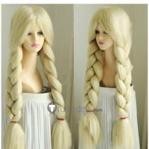 Disney Blonde Braid Cosplay Wig