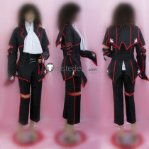 Code Geass Lelouch of the Rebellion Lelouch Red Black Cosplay Costume