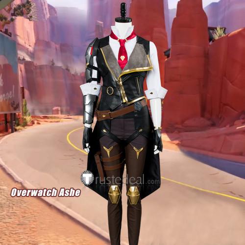 Overwatch Ashe New Hero Cosplay Costumes