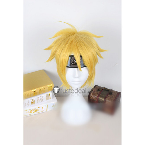 Boruto Naruto Next Generations Uzumaki Boruto Blonde Cosplay Wig
