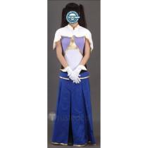 Gundam Seed Lacus Clyne Cosplay Costume 1