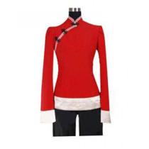 Hetalia: Axis Powers China Red Cosplay Costume