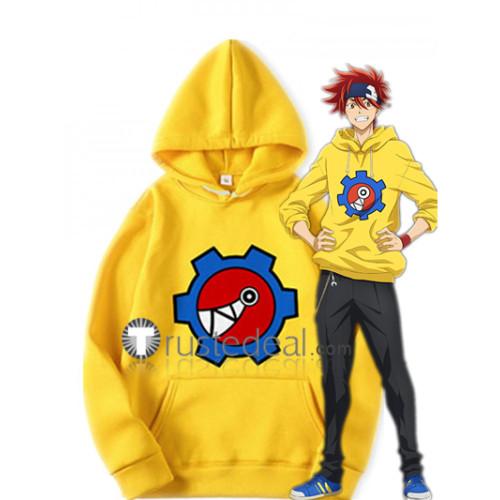 SK8 the Infinity SK∞ Reki Kyan Skater Yellow Hoodie Cosplay Costume