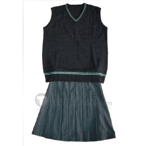 Harry Potter Slytherin Knitwear Cosplay Vest
