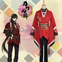 Touken Ranbu Online Izuminokami Kanesada Red Cosplay Costumes