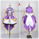 The Idolmaster Cinderella Girls Rin Mio Uzuki Stage Dress Cosplay Costumes
