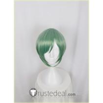 Act! Addict! Actors! A3! Summer Troupe Rurikawa Yuki Green Cosplay Wig