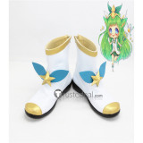 League of Legends Star Guardian Lulu White Cosplay Boots Shoes