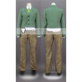Kimetsu no Yaiba Demon Slayer Tanjiro Kamado Green School Acedemy Uniform Cosplay Costume