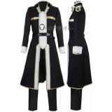 Sword Art Online Alicization SAO 3rd Kirito Kirigaya Kazuto Black Cosplay Costume