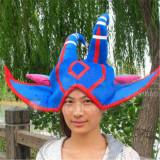 League of Legends Wicked Lulu Blue Cosplay Hat