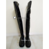 Tensei Shitara Slime Datta Ken Elen Eren Black Cosplay Shoes Boots