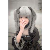 The Idolmaster Cinderella Girls Ranko Kanzaki Gray Cosplay Wig