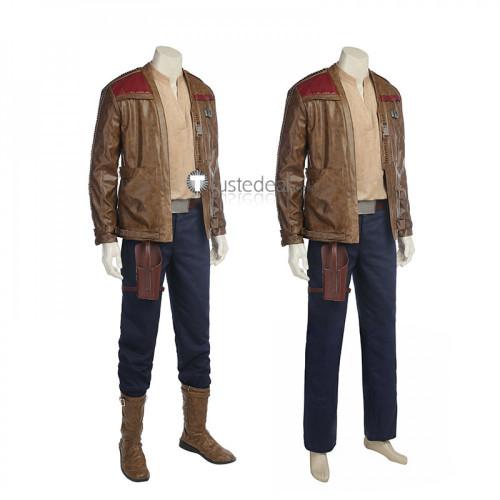 Star Wars Episode VIII: The Last Jedi Finn Jacket Cosplay Costume