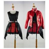 Guilty Crown YUZURIHA INORI Red Cosplay Costume