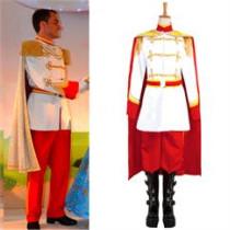 Cinderella Prince Cosplay Costume