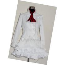 Tekken Lili Emilie de Rochefort White Lolita Cosplay Costume