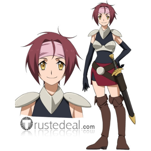 Gundam Build Divers Suu Brown Cosplay Shoes Boots