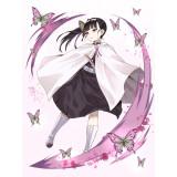 Kimetsu no Yaiba Demon Slayer Kanao Tsuyuri Demon Hunter Cosplay Costume