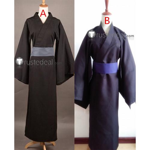 Noragami Yaboku Yato Black Kimono Cosplay Costumes
