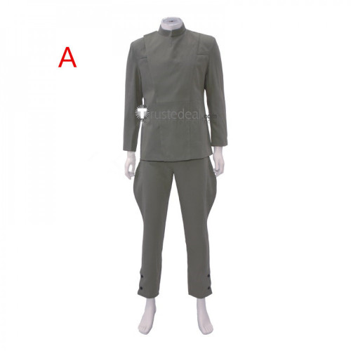 Star Wars Imperial Officer Black Military Uniform Cosplay Costume
