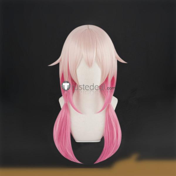 Guilty Crown YUZURIHA INORI Pink Cosplay Wig