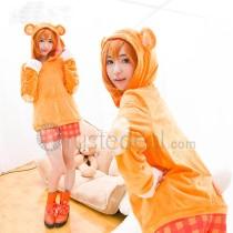 Love Live Kousaka Honoka Orange Bear Cosplay Costume