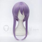 Seraph of the End Owari no Serafu Hiragi Shinoa Purple Cosplay Wig