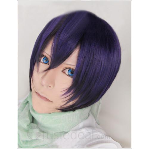Noragami Yato and Gintama Takasugi Shinsuke Purple Cosplay Wigs