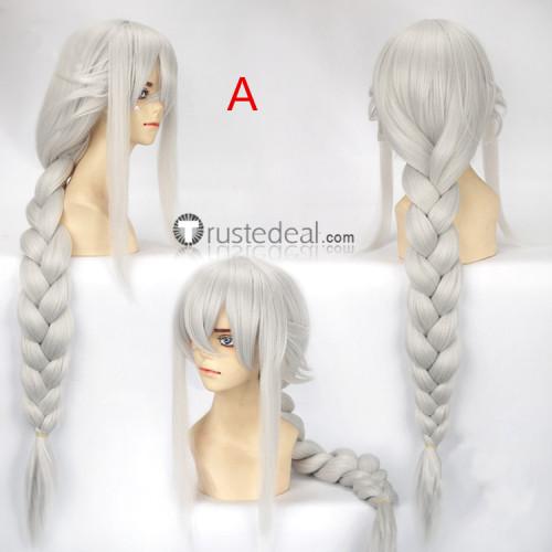 Onmyoji Aobozu Awakened Silver Grey Cosplay Wigs