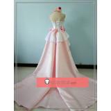 Sword Art Online Asuna Wedding Bride Dress Cosplay Costume