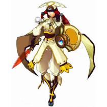 BLAZBLUE Tsubaki Yayoi Cosplay Costume