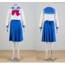 Sailor Moon Tsukino Usagi School Cosplay Costume