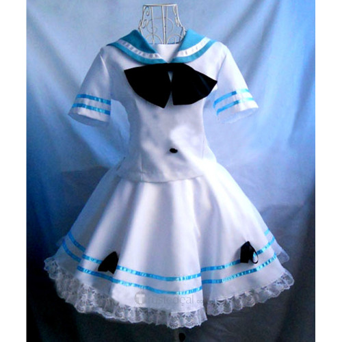 Panty and  Stocking with Garterbelt Stocking Navy Sailor Uniform Cosplay Costume