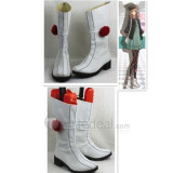 AMNESIA Heroine White Cosplay Boots Shoes