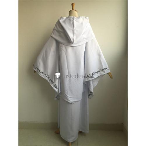 Star Wars 2 Queen Padme Amidala White Cosplay Costume