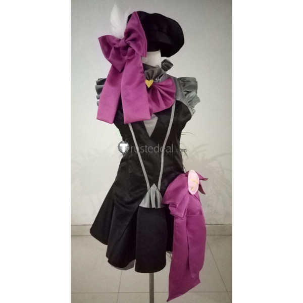 The Idolmaster Cinderella Girls Frederica Miyamoto Black Cosplay Costume