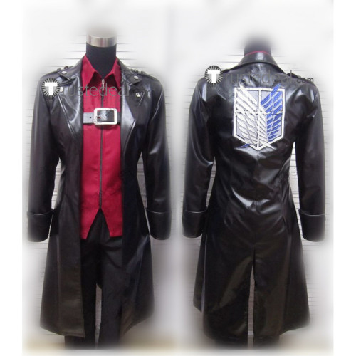 Shingeki No Kyojin Attack on Titan The Wings of Counterattack Levi Cosplay Costume