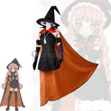 Magical Girl Raising Project Tsubame Murota Top Speed Witch Cosplay Costume