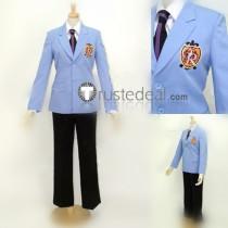 Ouran High School Host Club Tamaki Haruhi Honey Blue Jacket Cosplay Costume