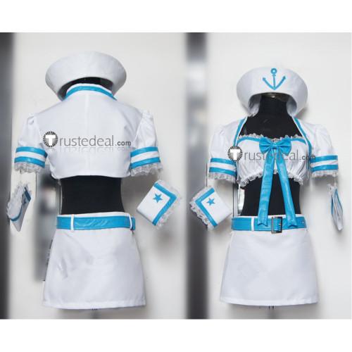 Super Sonico Sonico Sailor Uniform Cosplay Costume