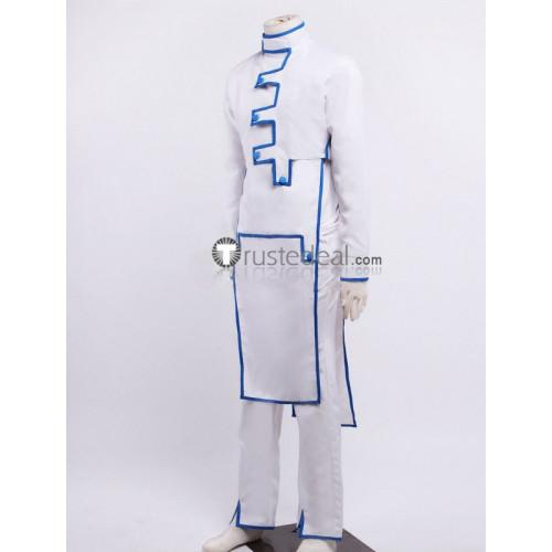 Jojo's Bizarre Adventure Diamond Is Unbreakable Rohan Kishibe White Cosplay Costume 1